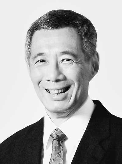 李显龙总理   应国务院总理李克强邀请,新加坡共和国总理李...