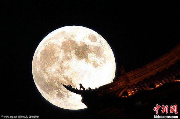 我和月亮之约——————【中秋日记】 - gdg555 - gdg555的博客