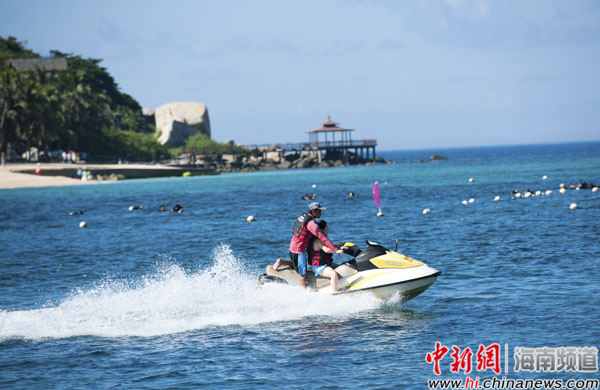 分界洲岛国庆期间看海豚乘潜艇有优惠