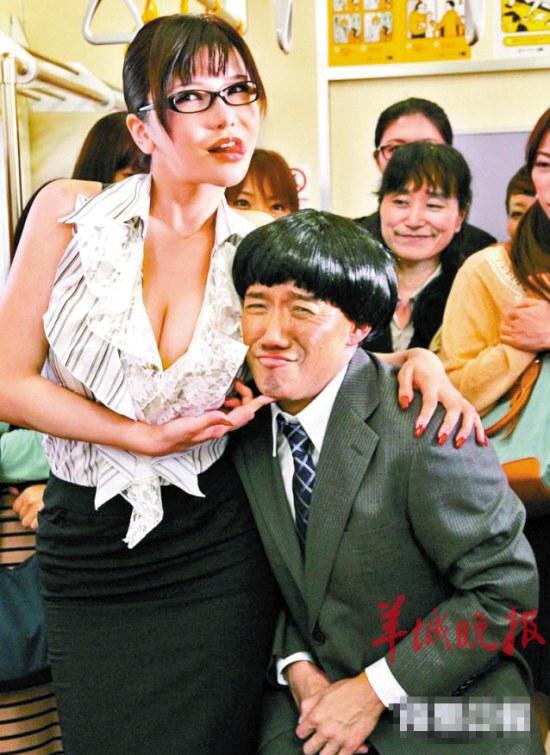 杜汶泽成功瘦身后赴日本与AV女优拍激情戏图