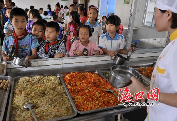 玄幻们都去哪吃饭?海南四成学校没孩子漫画食堂完结图片