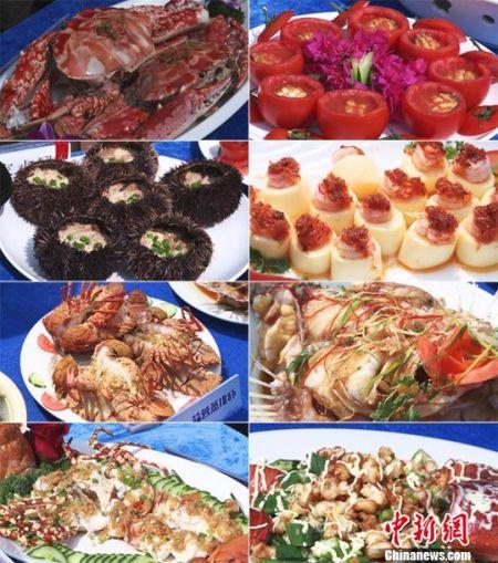 琼海举办海鲜美食文化周 近百菜肴瞬间抢光