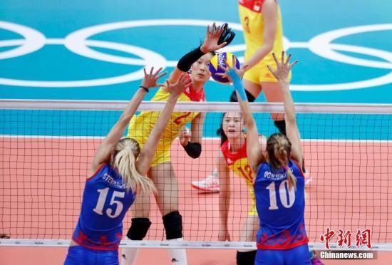 中国女排3:1逆转塞尔维亚 时隔12年再夺奥运冠