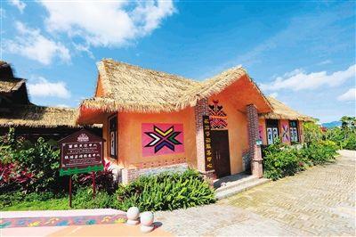琼海会山镇加脑村入选中国少数民族特色村寨