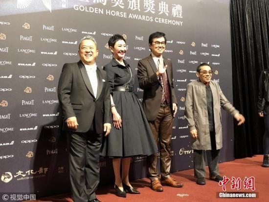 11月25日,第54届台湾电影金马奖颁奖典礼在台北举行,众多明星亮