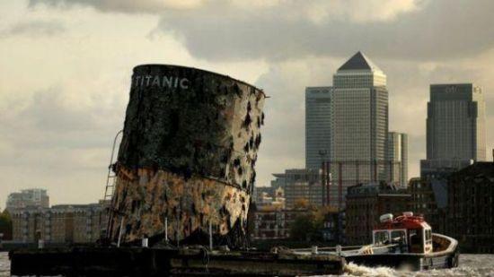 泰坦尼克号的残骸(BBC)