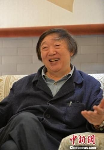 冯骥才称,年轻人要热爱自身的文化 肖雄 摄
