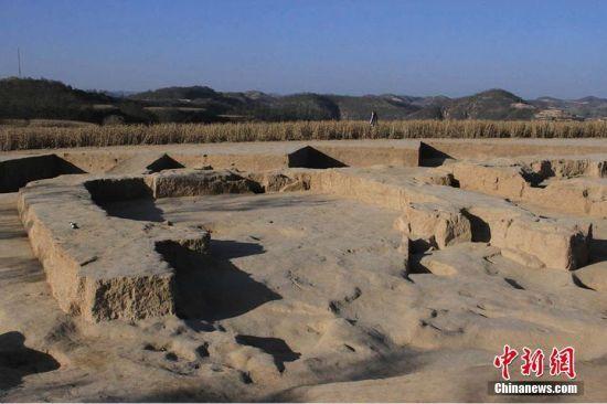 图为大型房址。 图片来源:陕西省考古研究院 文字来源:华商报