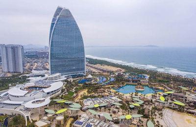 探访中国首家亚特兰蒂斯酒店