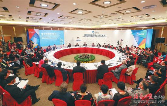 博鳌亚洲论坛已成为我国对外交流的主要国际平台。海南日报记者 张杰 摄