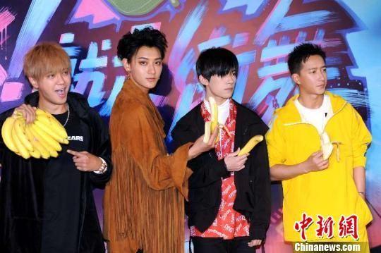 由罗志祥、黄子韬、易烊千玺、韩庚担纲明星队长的节目《这就是街舞》于4日至5日在上海录制总决赛。 徐银 摄