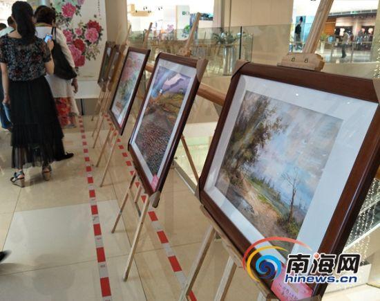 儋州举办庆祝海南建省办经济特区30周年书画展