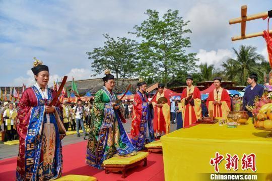 海南玉蟾宫举办戊戌年玉蟾祖师圣诞暨军坡文化活动