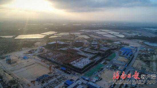 文昌:海南潮滩湾国际医院计划2020年3月试营业