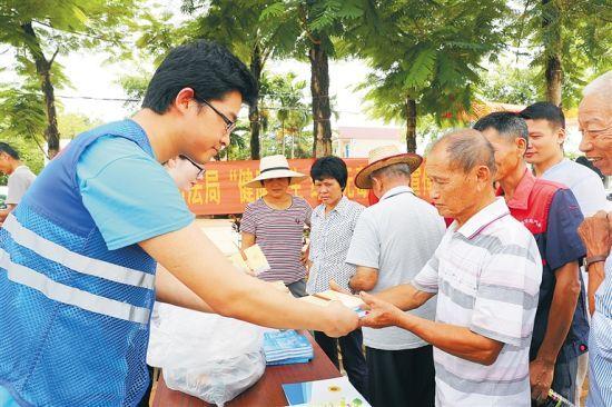 居民参与志愿服务 琼海打造新时代文明实践样板