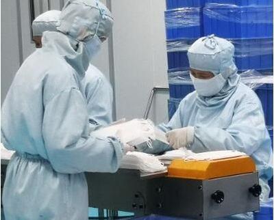探访海口医用口罩生产线:24时不停抓紧生产