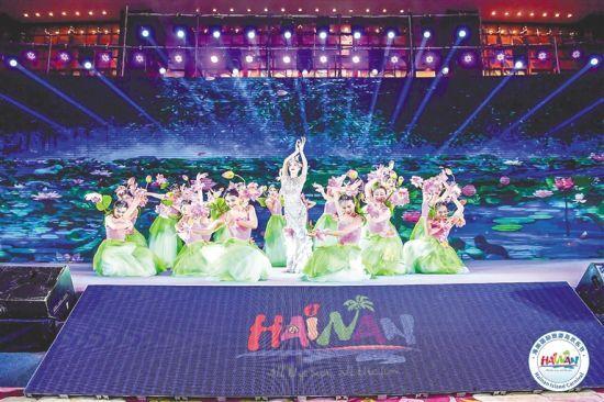 2019年(第二十届)海南国际旅游岛欢乐节旅游推介会。(资料图片)