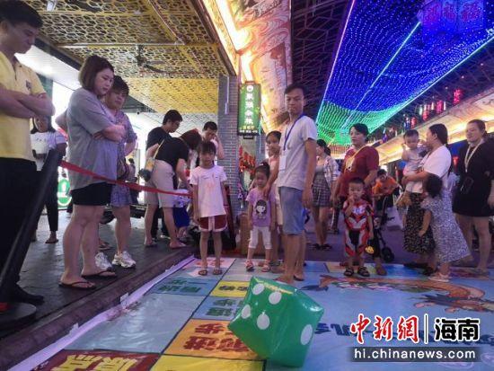 互动游戏吸引市民游客积极参与。主办方供图