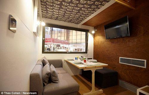 立体屋高3m宽4m卧室客厅齐全(3)