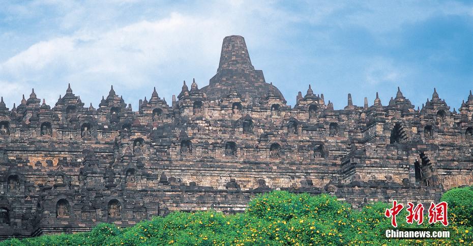 印度尼西亚/印度尼西亚,婆罗浮屠佛塔。王琛摄图片来源:CTPphoto [5]