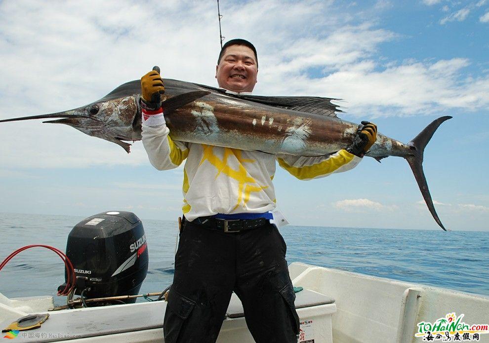 海钓天堂海南岛 环岛海钓点上百个(2)