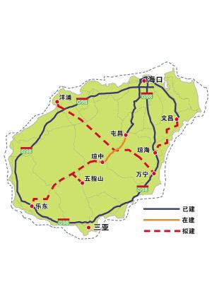 海南省高速公路网王凤龙/图