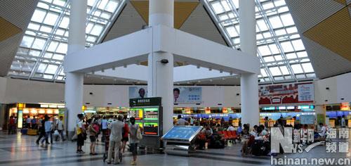 海口美兰机场航班进出恢复正常