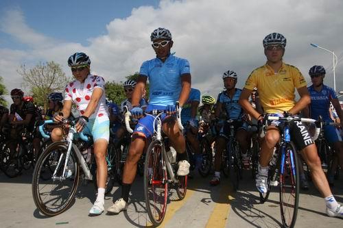 环岛自行车赛保亭赛段