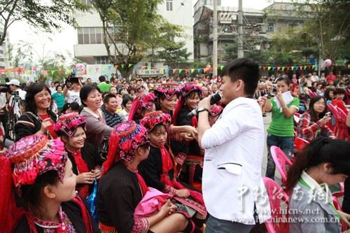 海南广电总台主持人与观众互动游戏