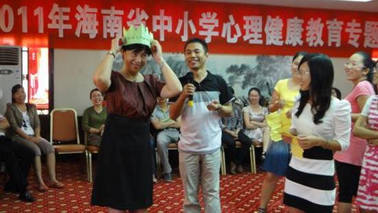 海南农垦实验中学 探索心理健康教育工作规律