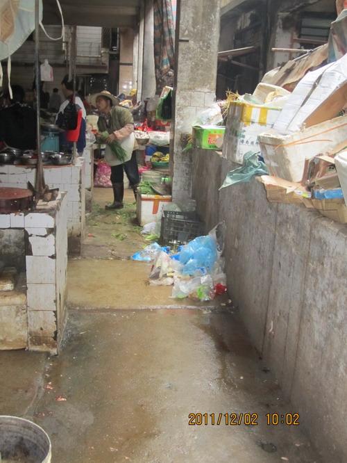 澄迈街头不见垃圾桶 卫生环境差