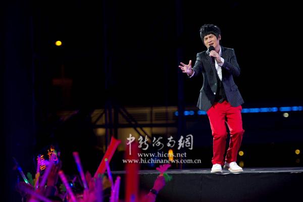 """12月31日晚,2011年(第十二届)中国海南岛欢乐节""""跨年欢乐盛典""""在"""