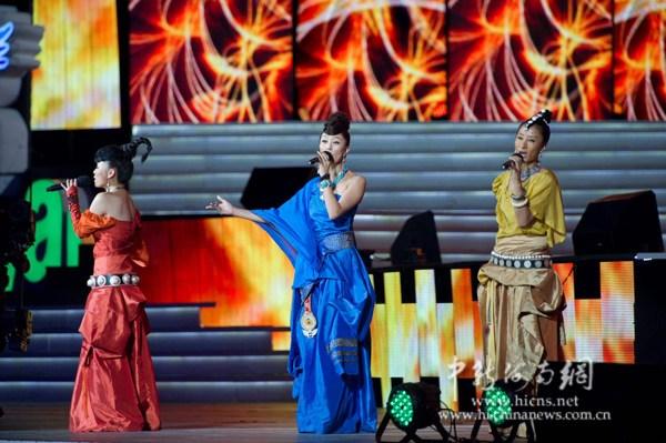 """12月31日晚,2011年(第十二届)中国海南岛欢乐节""""跨年欢乐盛典""""在万"""