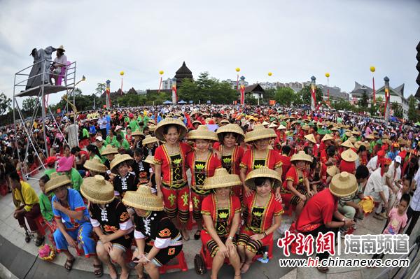 2013中国(海南)七仙温泉嬉水节开幕式