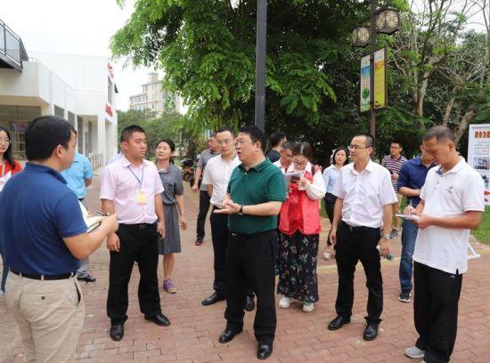 海口市委常委、宣传部部长王忠云率队到红旗镇